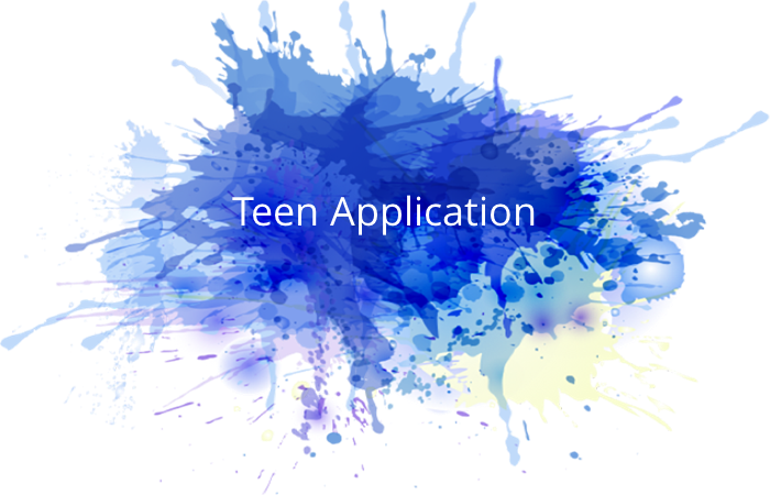 Teen Application button